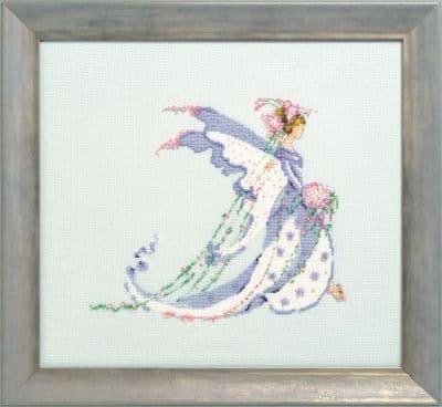 Nora Corbett Calla Lily Bride printed cross stitch chart