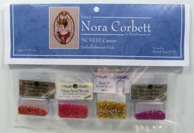 Nora Corbett Cancer Embellishment Pack