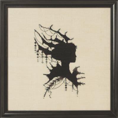 Nora Corbett Claire printed cross stitch chart