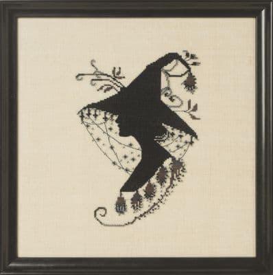 Nora Corbett Evanora printed cross stitch chart