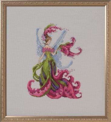 Nora Corbett Gladiola Maid of Honor printed cross stitch chart