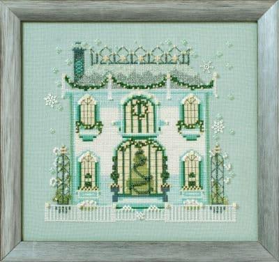 Nora Corbett Mr Darby's House printed cross stitch chart