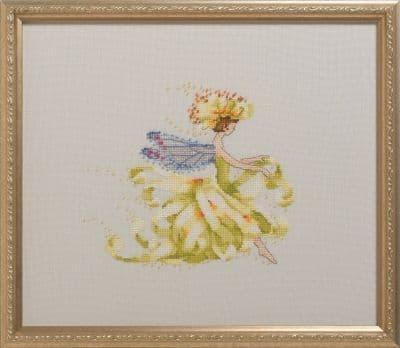 Nora Corbett Mum Flower Girl printed cross stitch chart