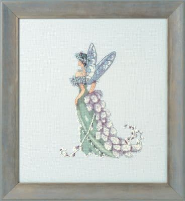 Nora Corbett Pussy Willow Mother of the Bride printed cross stitch chart