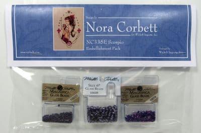 Nora Corbett Scorpio Embellishment Pack