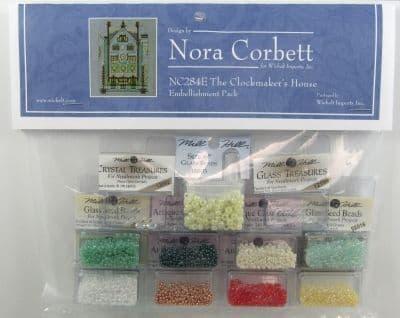 Nora Corbett The Clockmaker's House Embellishment Pack
