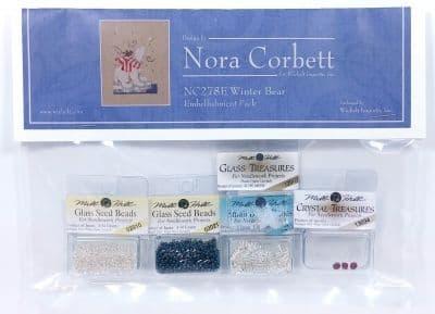 Nora Corbett Winter Bear Embellishment Pack