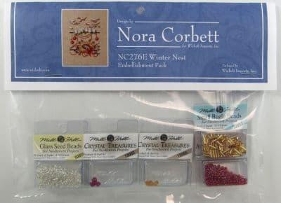 Nora Corbett Winter Nest Embellishment Pack