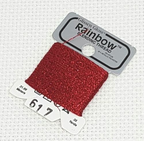 Red GlissenGloss Rainbow Thread 15 / R617