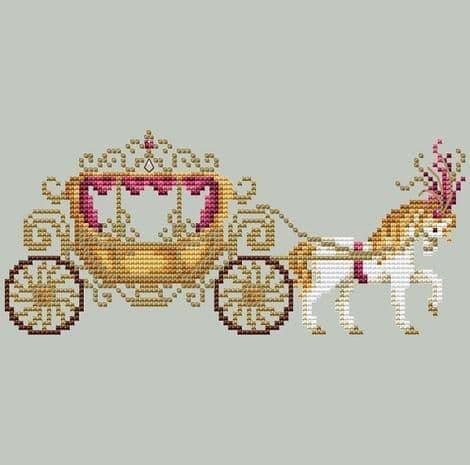 Shannon Christine Designs Carriage cross stitch chart