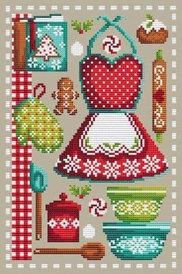 Shannon Christine Designs Christmas Baking cross stitch chart
