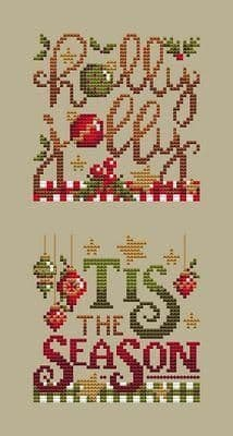 Shannon Christine Designs Christmas Club 1 cross stitch chart