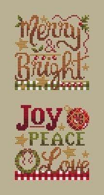 Shannon Christine Designs Christmas Club 3 cross stitch chart