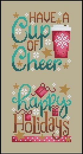 Shannon Christine Designs Christmas Club 4 cross stitch chart