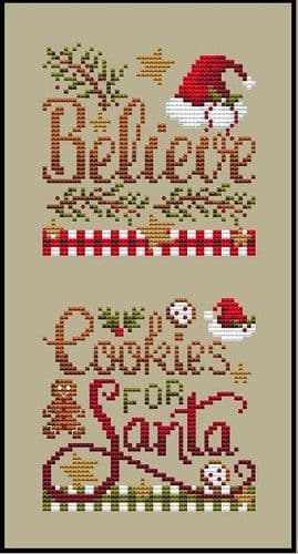 Shannon Christine Designs Christmas Club 5 cross stitch chart
