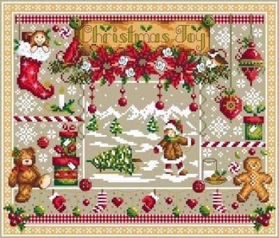 Shannon Christine Designs Christmas Joy cross stitch chart