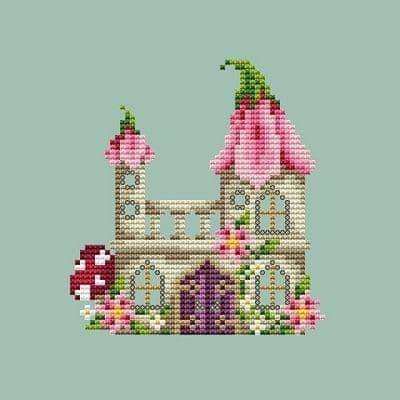 Shannon Christine Designs Fairy Castle cross stitch chart