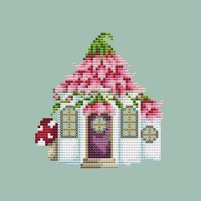 Shannon Christine Designs Fairy House cross stitch chart