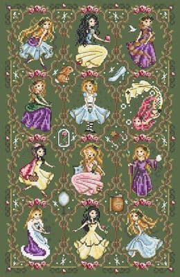 Shannon Christine Designs Fairytale cross stitch chart