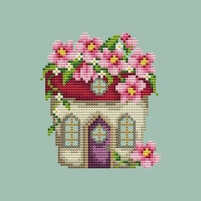 Shannon Christine Designs Flower Pot House cross stitch chart