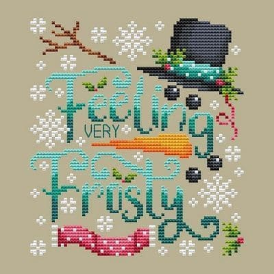 Shannon Christine Designs Frosty cross stitch chart
