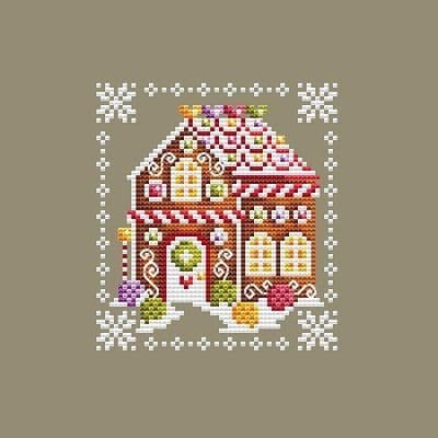 Shannon Christine Designs Gingie's House cross stitch chart