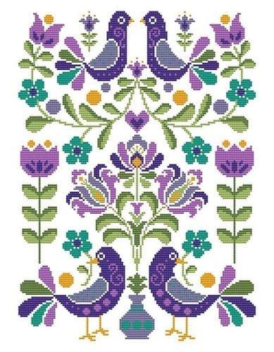 Shannon Christine Designs Hello Folks cross stitch chart