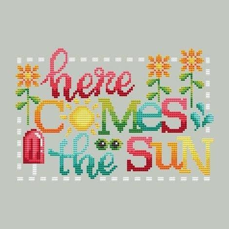 Shannon Christine Designs Here Comes the Sun cross stitch chart