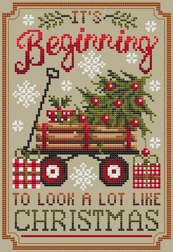 Shannon Christine Designs Looks Like Christmas cross stitch chart