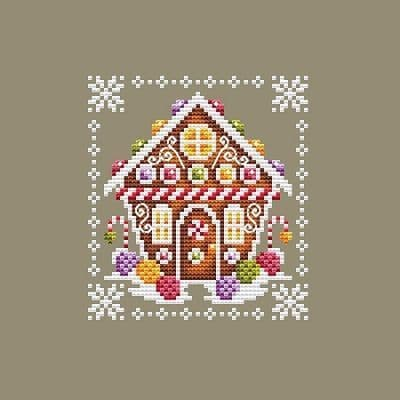 Shannon Christine Designs Peppermint's House cross stitch chart