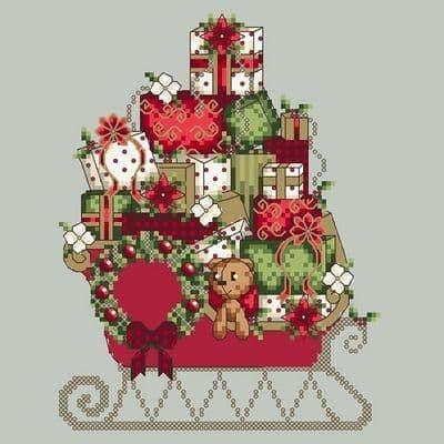 Shannon Christine Designs Santa's Sleigh cross stitch chart
