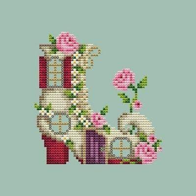 Shannon Christine Designs Shoe House cross stitch chart
