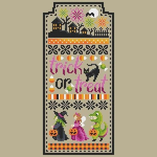 Shannon Christine Designs Trick or Treat Sampler cross stitch chart