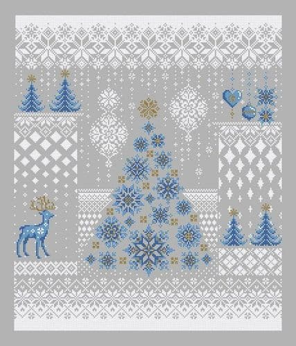 Shannon Christine Designs Winter Snowfall cross stitch chart