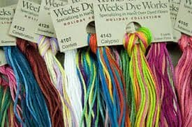 Weeks Dye Works Thread Club