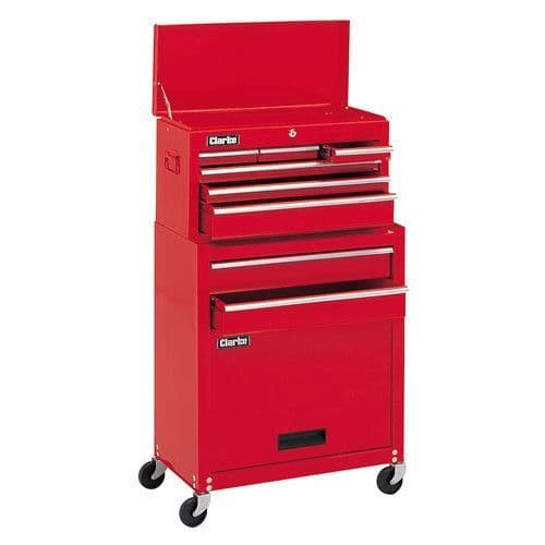 Clarke 7633041 CTC1300B - 13 Drawer Tool Chest & Cabinet