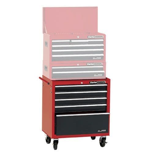 Clarke 7634830 CLB1005 - 5 Drawer Mobile Tool Cabinet