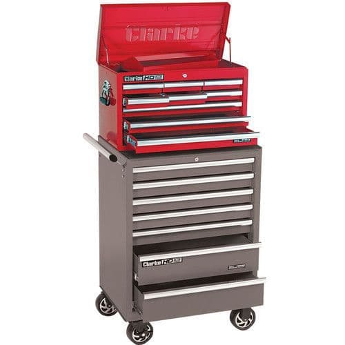 Clarke 7638025 CBB209B HD Plus 9 Drawer Tool Chest
