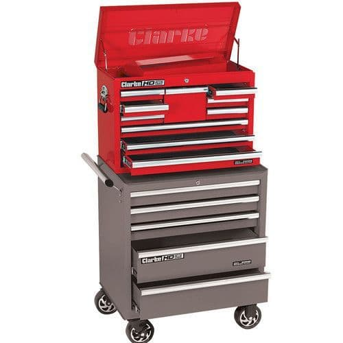 Clarke 7638035 CBB210B HD Plus 10 Drawer Tool Chest