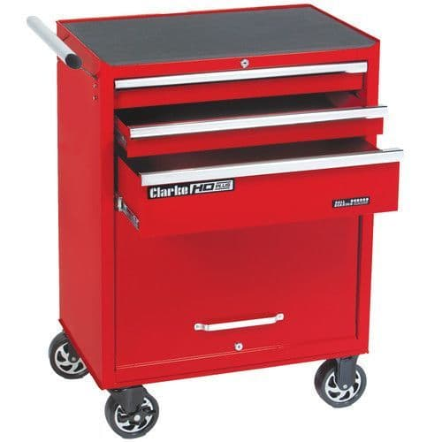 Clarke 7638045 CBB213B HD Plus 3 Drawer Tool Cabinet