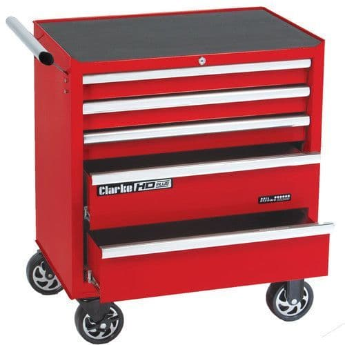 Clarke 7638050 CBB215B HD Plus 5 Drawer Tool Cabinet