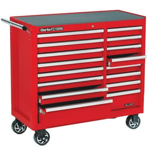 Clarke 7638080 CBB226B HD Plus 16 Drawer Tool Cabinet