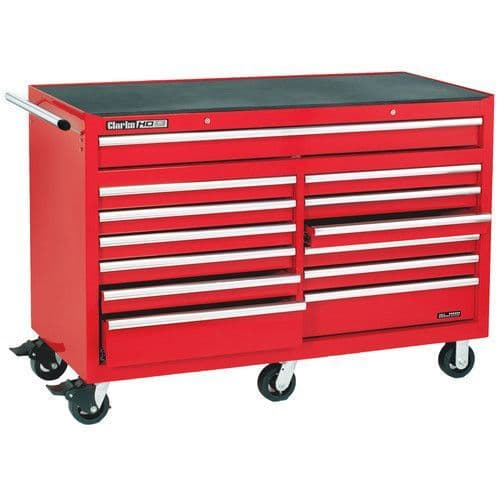 Clarke 7638105 CBB230B Extra Large HD Plus 13 Drawer Tool Cabinet