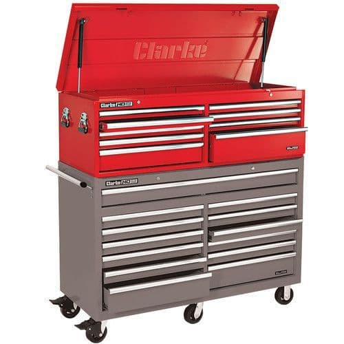 Clarke 7638110 CBB231B Extra Large HD Plus 9 Drawer Tool Chest