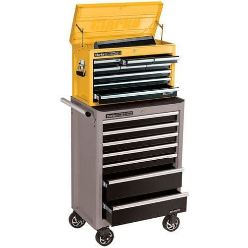 Clarke 7638140 CC190B Contractor 9 Drawer Tool Chest