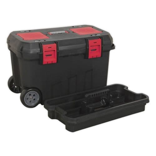 Sealey AP529 Mobile Toolbox with Tote Tray and Organizers 750mm