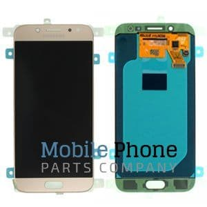 Genuine Samsung Galaxy J5 2017 J530F LCD + Digitiser Gold - Part No: GH97-20738C