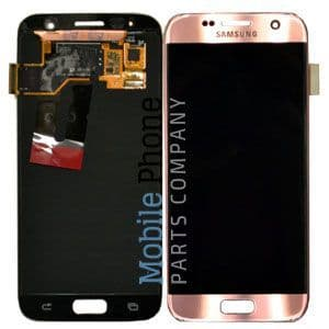 Genuine Samsung Galaxy S7 G930F LCD + Digitiser Rose Gold - Part No: GH97-18523E