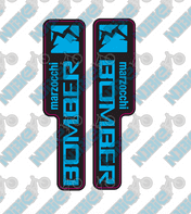 Basic Marzocchi Bomber Fork Decals