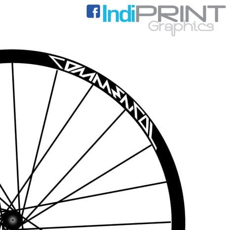 Commercial  Mid School Style Rim Decals